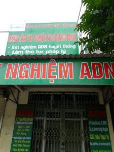 Xét nghiệm ADN ở Quảng Ninh