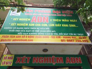 Xét nghiệm ADN ở Thái Bình
