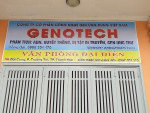 Xét nghiệm ADN ở Thanh Hóa